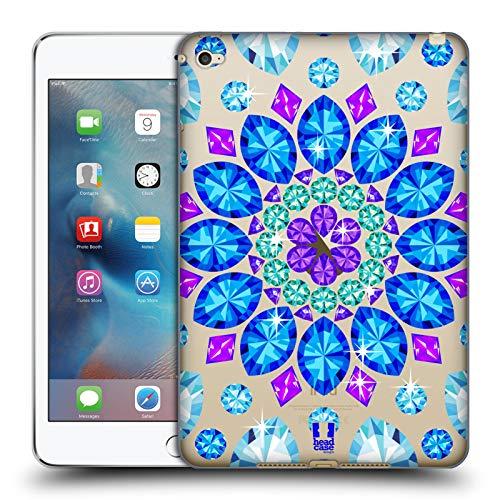 Head Case Designs Mandala Crystals Sparkling Gemstones Soft Gel Case for iPad Mini 4