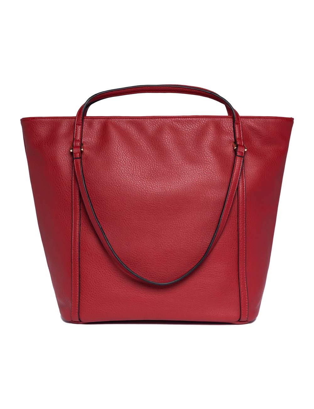 Replay dam Fw3836.000.a0132d handväska, 18 x 33,5 x 30,5 cm Röd (glansig röd)