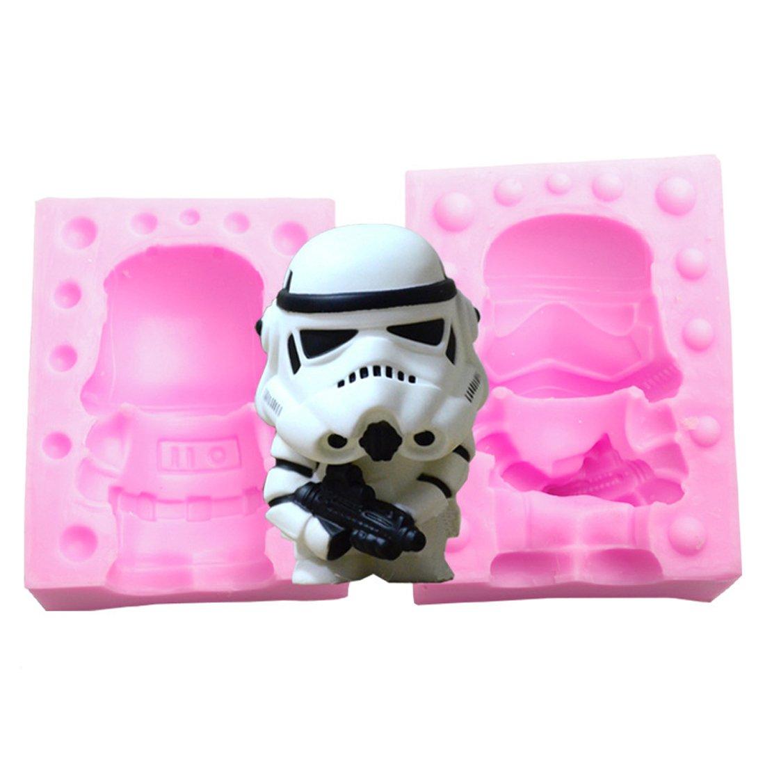 Suzhou LOFTER info Star Wars vela de jabón Moldes de ...