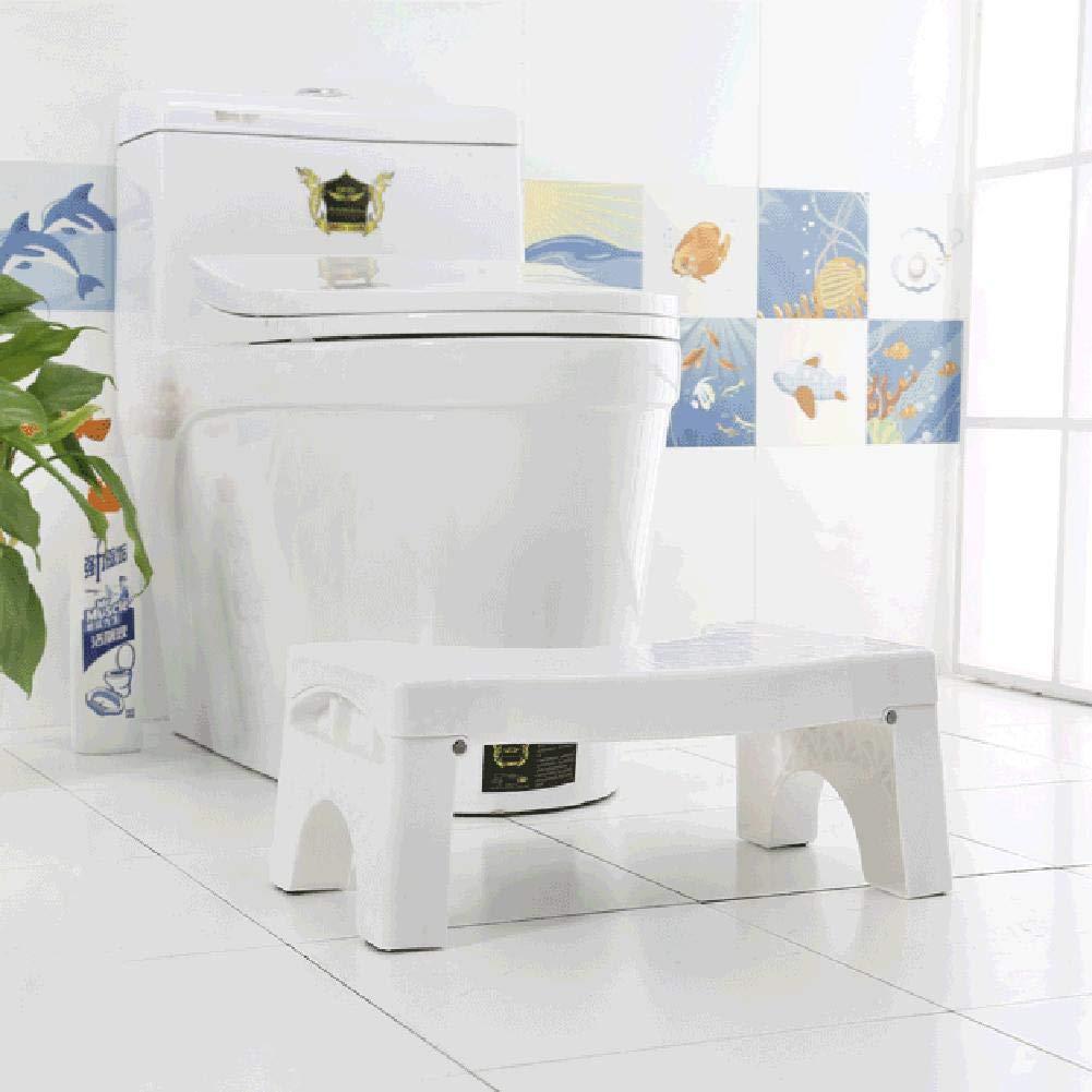 Loveinwinter Toilettenhocker,41X25X17,5 cm Toilettenstuhl Klapp Pedal F/ür Den Fu/ß Hocker Toilette Schritt Kinderstuhl Toilette Hocker Kunststoff Hocken Hocker