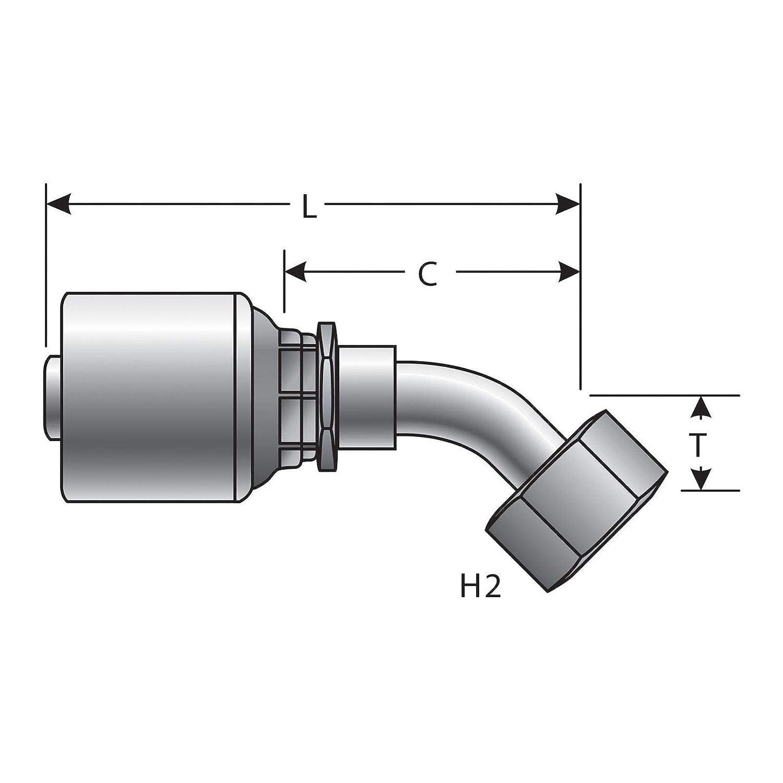 Gates G25175-1010 Hydraulic Coupling