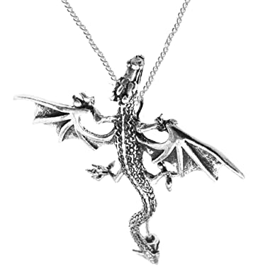 Dragon pendant No. 288 from 925 sterling silver. 604fKO