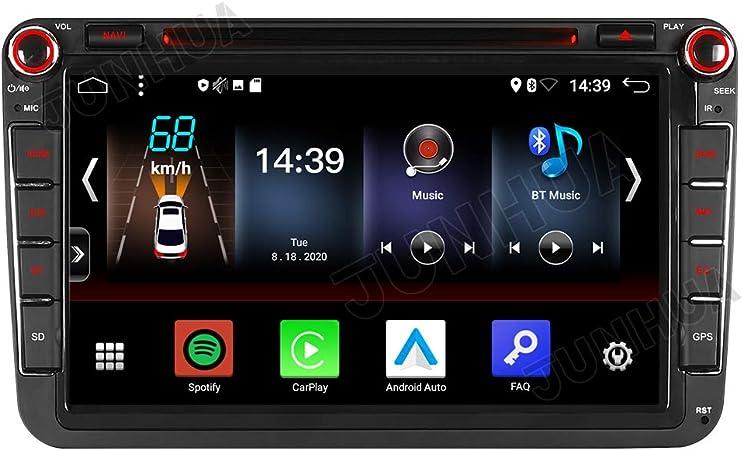 Junhua 8 Zoll Android 10 Carplay Android Auto 2 Tunner Elektronik
