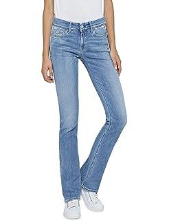 f57ddd33bb6fa8 REPLAY Teena Jeans a Zampa Donna: Amazon.it: Abbigliamento