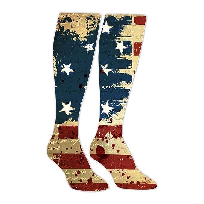 Amazon.com: Calcetines deportivos de la bandera de Estados ...