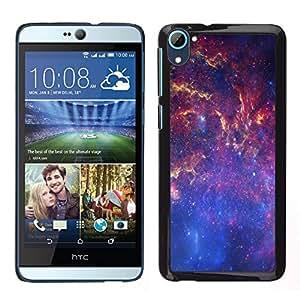 Stuss Case / Funda Carcasa protectora - Espacio de la galaxia Vía Láctea - HTC Desire D826