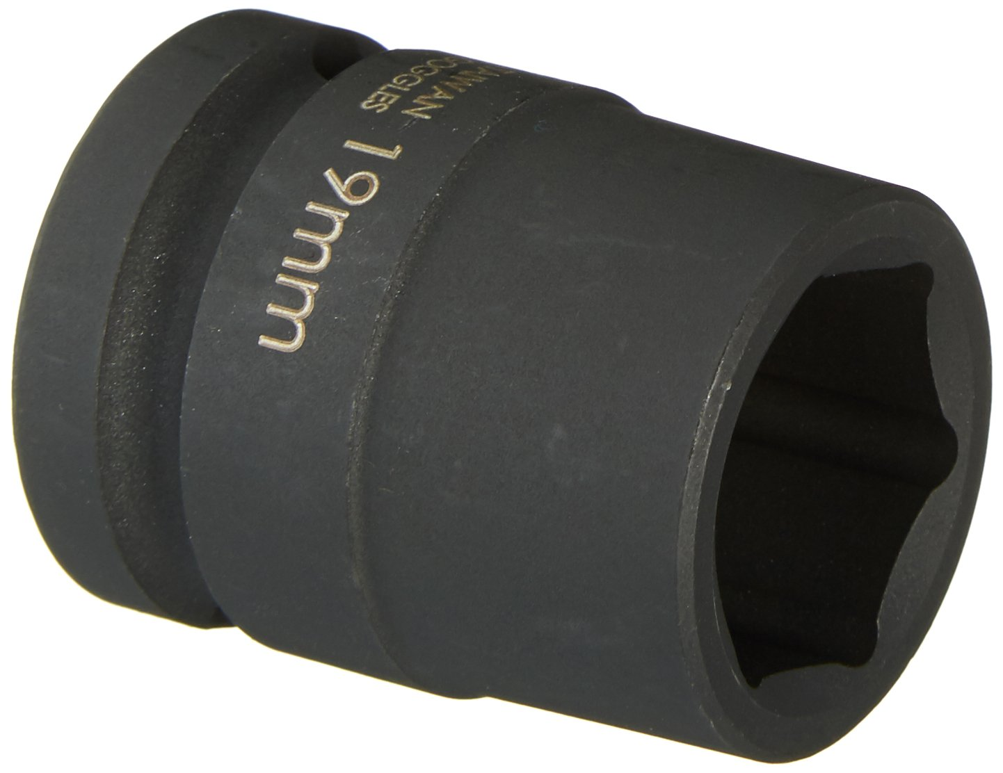 Williams 37519 19mm Shallow 6-Point Impact Socket 1//2 Drive