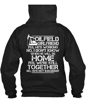 70673c37 Amazon.com: We're Still Together Hoodies, Oilfield Girlfriend T Shirt:  Clothing