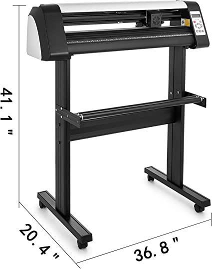 VEVOR Máquina Cortadora de Vinilo de 720 mm, Plotter de Corte de Vinilo con Control Digital, Vinilo Cortador Letrero, Corte Plotter Impresora Sublimación, Plotter de Impresión: Amazon.es: Electrónica