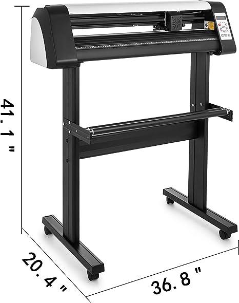 VEVOR Máquina Cortadora de Vinilo de 720 mm, Plotter de Corte de ...