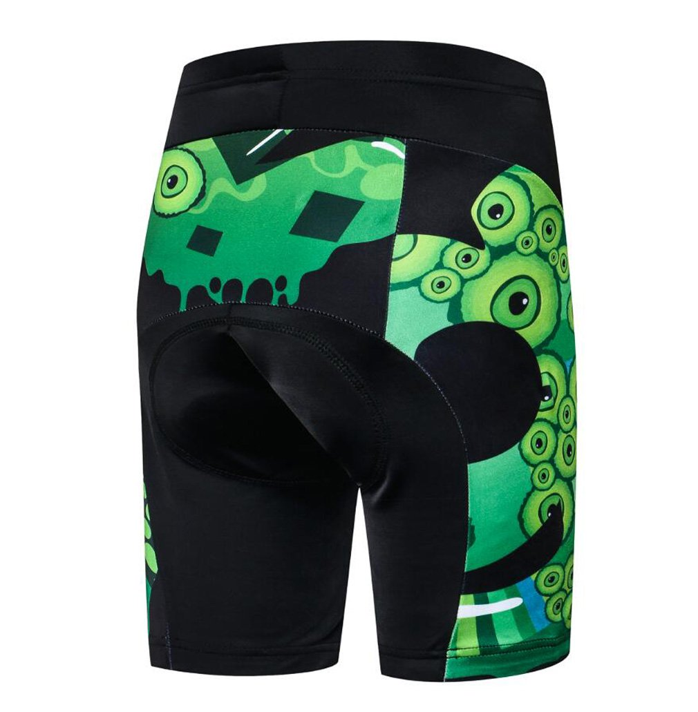 Nawing Cycling Shorts MTB Road Bicycle 3D Padded Gel Summer Children Bike Tights