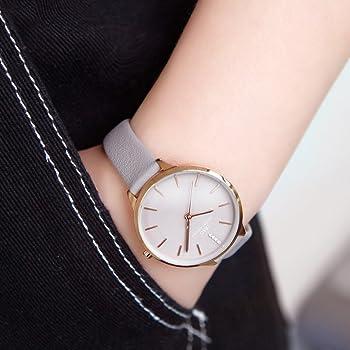 85afc53f4 Women Fashion Simple Watch Ultra-Thin Retro Quartz Analog Leather Strap  Ladies Wristwatch. IBSO Women Fashion Simple Watch Ultra-Thin Retro Quartz  Analog ...