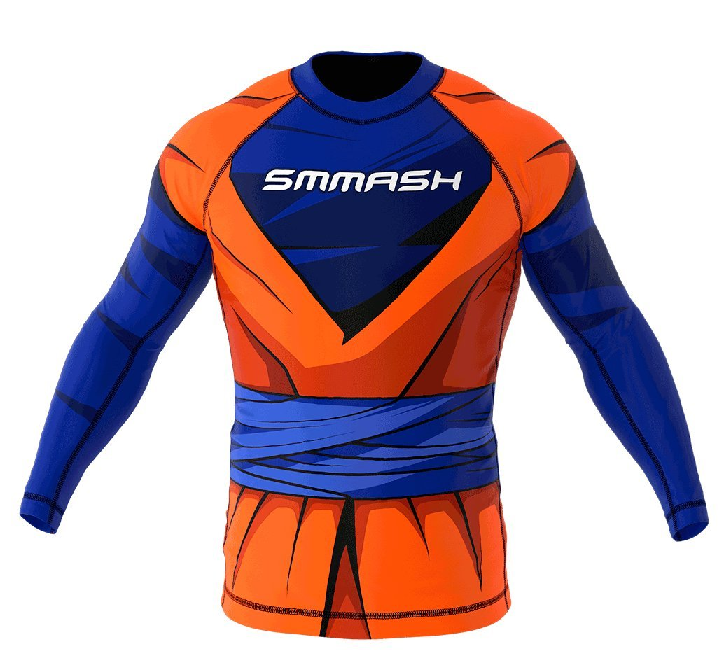 Image of SMMASH Long Sleeve Rashguard HERO