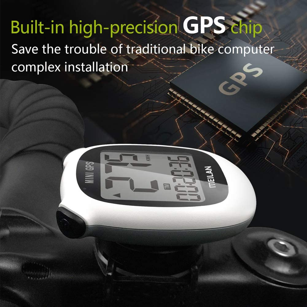 Irfora Bicicleta Cuentakilometros,Computadora de Ciclismo,Bike Veloc/ímetro Od/ómetro Bike Ordenador,Equipo de Ciclismo a Prueba de Agua con Pantalla LCD