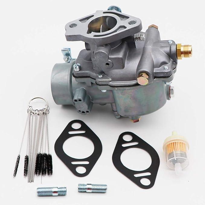 C5NE9510C KIPA Carburetor for Ford New Holland 3000 3055 3100 3120 3150 3300 3310 3330 3400 3500 3550 OEM Part Number 13916 D8NN9510C With Carbon Dirt Jet Cleaner Tool Kit C5NN9510M