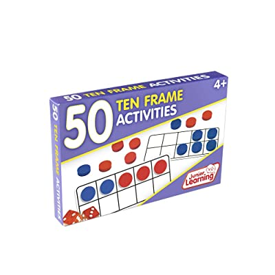 Junior Learning 50 Ten Frame Activities: Toys & Games