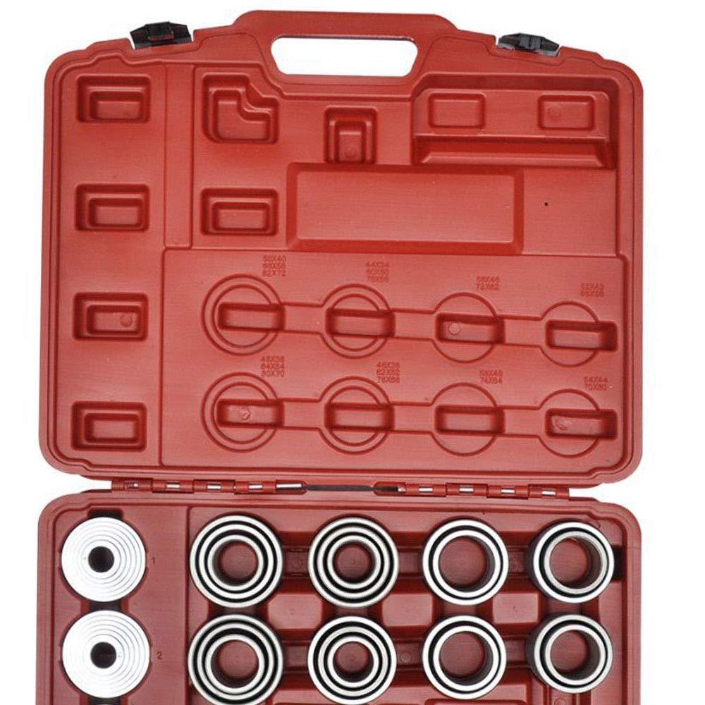 Douilles pour Montage//Installation sur Voiture SHIOUCY Manchon de Pression 36 pcs Outils pour Extraction de roulements s/éparateurs