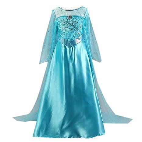 Moin Vestido para Niñas de la princesa de la falda de la impresión de los niños