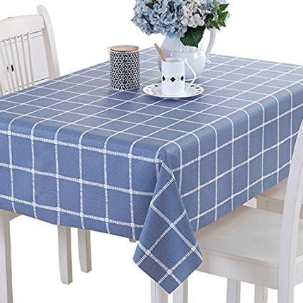 Table & Sofa Linens High Quality Table Cloth Waterproof Anti Oil Polyester Table Cloth Dining Kitchen Table Cover Protector Party Decor