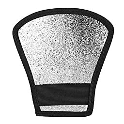 pangshi® Two-Sides Flash Diffuser Softbox Silver/White Reflector for Nikon Speedlite SB-600, SB-800, SB-900, Canon Speedlite 380EX 430EX 550EX 580EX Vivita Flash Sunpack Nissin Sigma Sony Pentax Olympus Yongnuo Flash