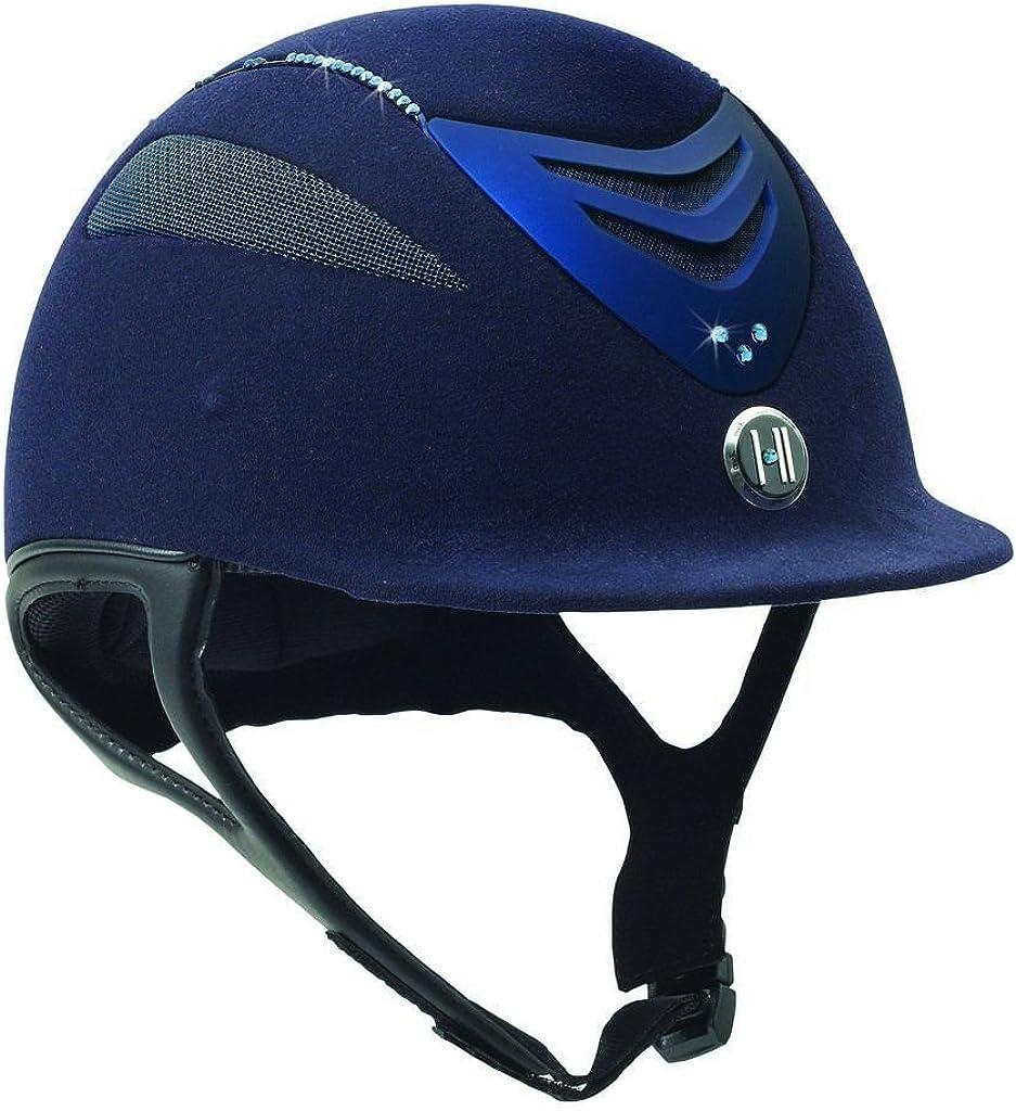 Black Matte One K Unisex Defender Suede Protective Riding Helmet XX-Large