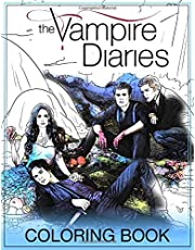 The Vampire Diaries Coloring Book: Coloring Books For Teens And Adults Fan Of The Vampire Diaries