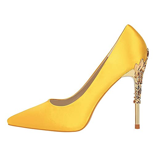 52bc3135 Tacones de Mujer, Mujer Elegante Tacón Alto Zapatos Apuntado Zapatos, Moda  Tacones Finos Boda Fiesta Zapatos: Amazon.es: Zapatos y complementos