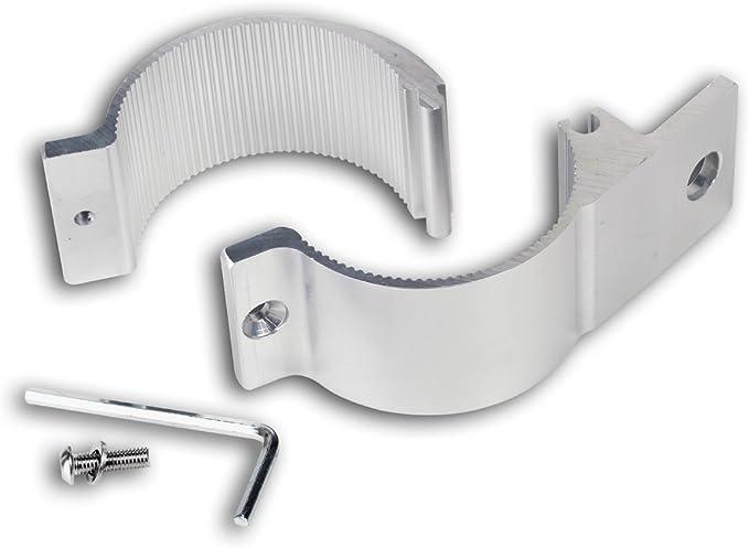 Universell Passende Aluminium Rohrschelle ø 60 Bis 63mm Für Lampenbügel Frontbügel Überrollbügel Etc 60 63 Mm Auto