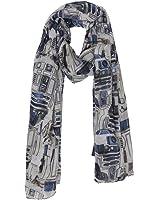 Star Wars R2D2 Viscose Scarf Multi One Size