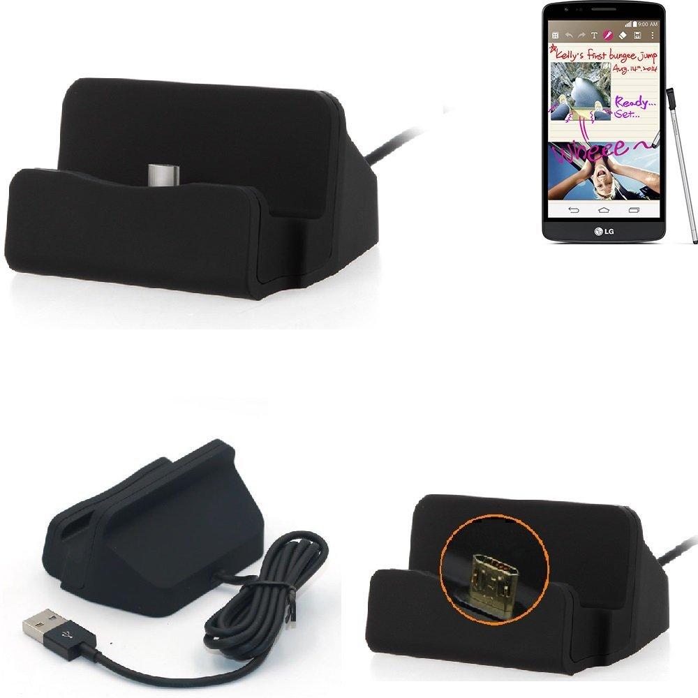 K-S-Trade Base de Carga para LG G3 Stylus Micro USB Cargador ...