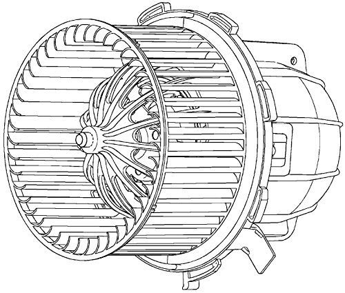 51040251 Blower for Audi A4/A5/S5/Q5 08- (Behr Blower Motor)