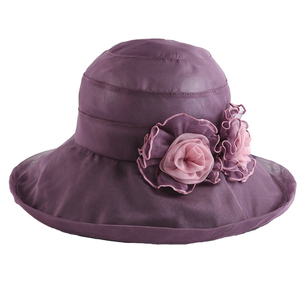 D sadahsdhjkh Ladies Sunhat Sun Hat Sun Predection,Collapsible,Large Along,Beach Hats