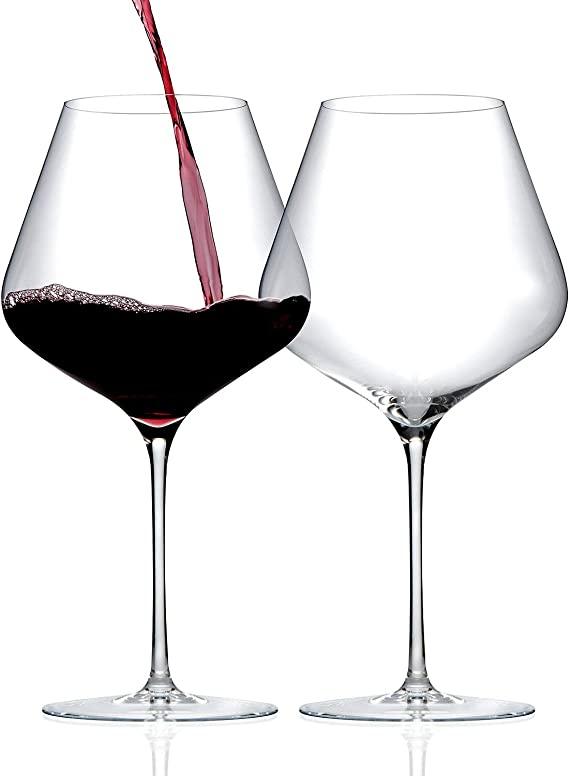 ZENOLOGY by Wine Enthusiast Pinot Noir Wine Glasses - Set of 2
