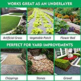 kdgarden Premium 5oz Pro Weed Barrier Landscape