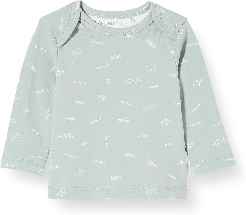 Noppies Unisex Baby U Ls Amnon AOP T-Shirt