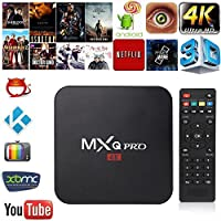 MXQ Pro Android 6.0 TV Box 4K Quad Core HD 1080p WIFI HDMI Player Hot Sale 16.0