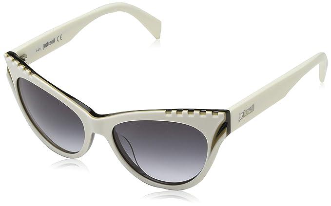Just Cavalli Sonnenbrille JC787S 24W 53 Gafas de sol, Blanco ...