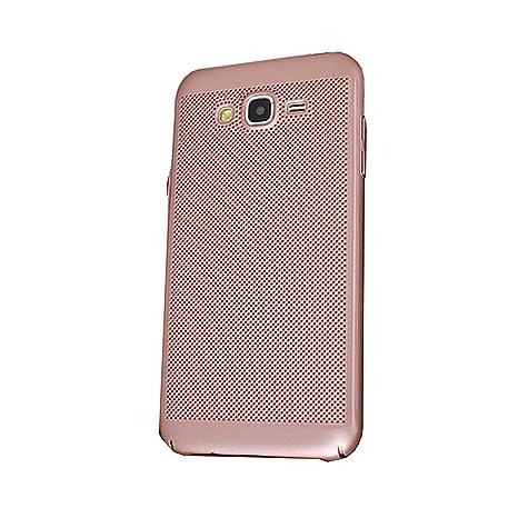 Yunbaozi Funda Samsung Galaxy J5 2016 Hard Protective Case Carcasa Matriz Agujero Pequeño Funda Protector Duro Cáscara Delgado Anti Choque ...
