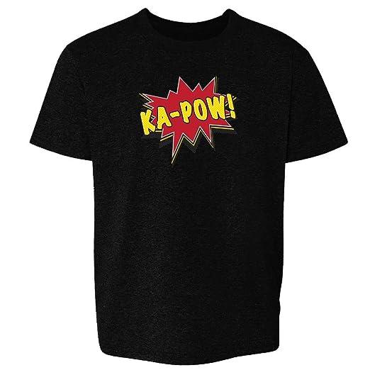 6e9387de9a01 Huzzah Pop Art Black 2T Toddler Short Sleeve Kids T-Shirt Baby/Toddler/