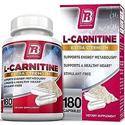 BRI L-Carnitine - 180 Tables 1000mg per ...