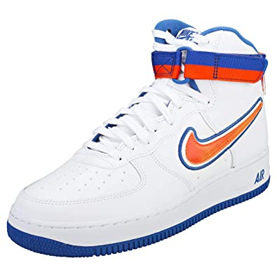 new arrival c98b5 85f32 Nike Men s Air Force 1 High  07 Lv8 Sport Fitness Shoes, Multicolour (White