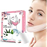 V Line Mask, Chin Up Patch, Double Chin Reducer, V-Shape Lifting Up Face Mask - Anti Age Face Slimming Lifting Patch for…