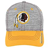 Outerstuff NFL NFL Washington Redskins Youth Boys Velocity Structured Flex Hat Heather Grey, Youth One Size