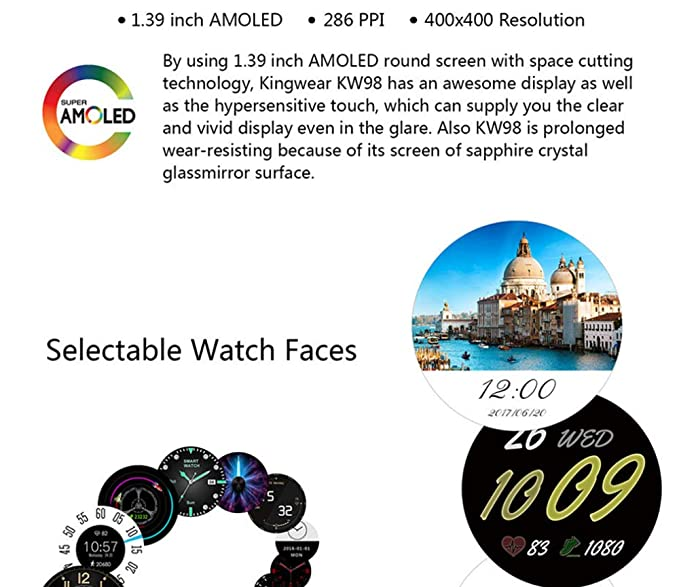XUEQQ Reloj Inteligente con Bluetooth Smart Watch Phone ARC Touch ...