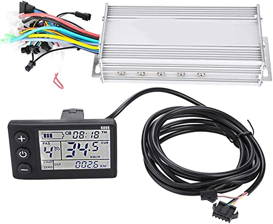 Controller Motore Elettrico Pannello Display LCD Impermeabile Kit Controller brushless per Bici elettrica E-Bike Scooter 1000W24V MAGT Kit Controller Scooter