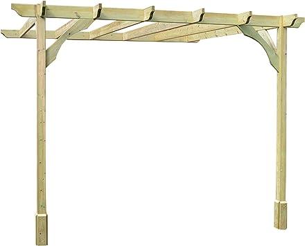Rutland County Garden Furniture - Pérgola de Pared (5 Unidades, Hecha a Mano): Amazon.es: Jardín