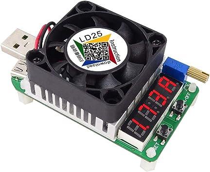 RD LD25 Resistencia de Carga electrónica Interfaz USB Prueba de ...