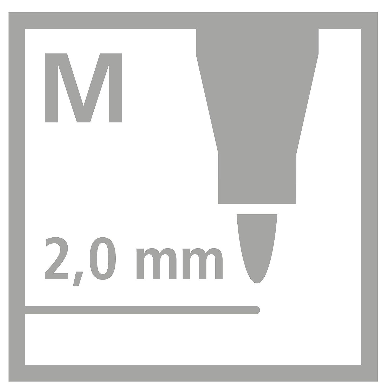 STABILO power Pennarelli colori assortiti Confezione da 24