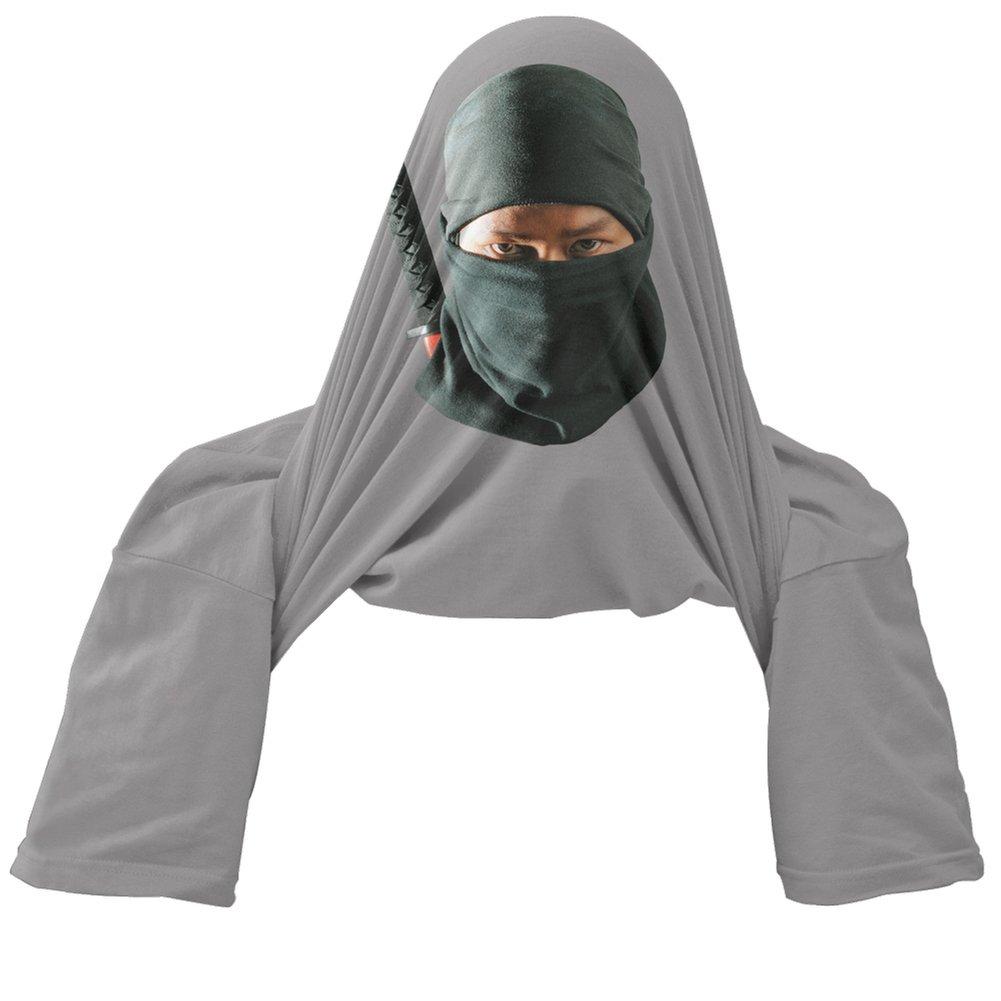 Old Glory Want to See My Ninja Skills Grey Youth Flip Up T-Shirt