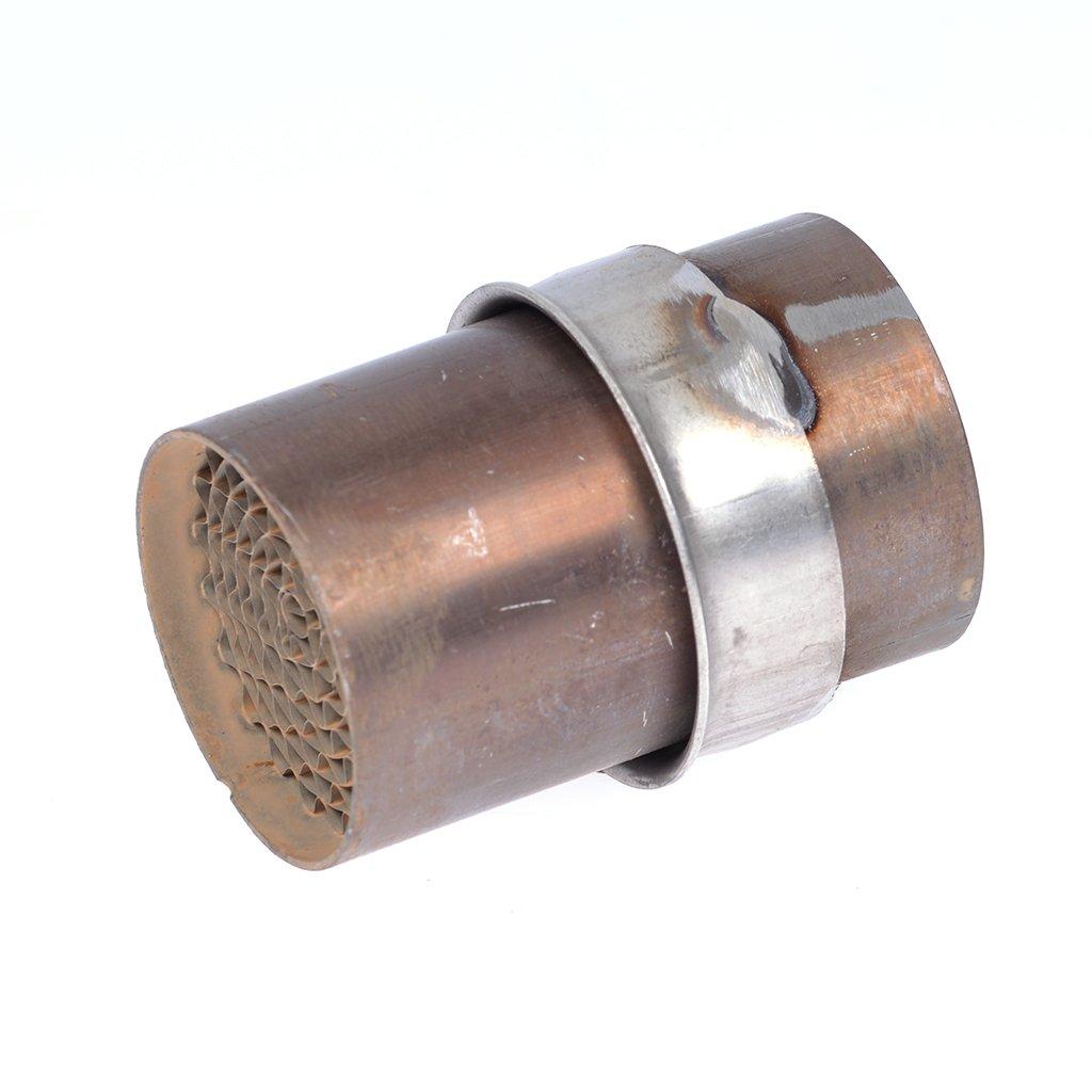 Auspuff-Katalysator LeoVince 45 mm Durchmesser/Einbaumaß